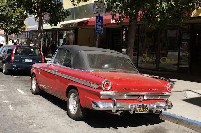 1963 Studebaker Lark Daytona convertible.