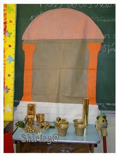 decoracao de sala infantil escola dominical : decoracao de sala infantil escola dominical:Escola Dominical Infantil: Artesanato: Decoração da sala para aula