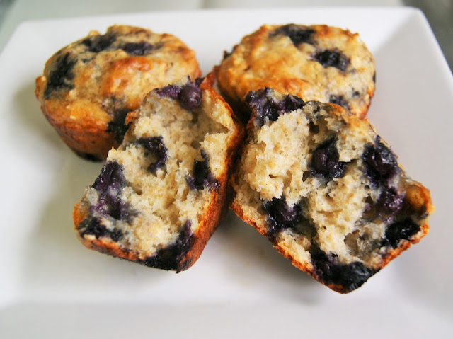 Most Viewed Recipe of the Week | Blueberry Oatmeal Yogurt Muffins from Dessert Before Dinner #breakfast #muffins #blueberry #recipe #SecretRecipeClub