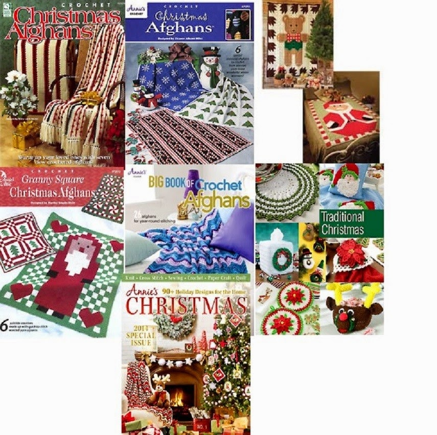 Crochet Christmas Afghan Patterns For The Holidays
