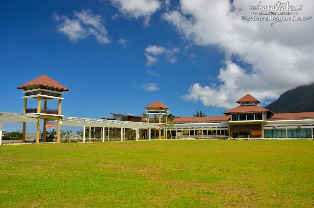 Sarawak Borneo Adventure Kuching Largest Hornbill Bird landmark in Damai Central Santubong