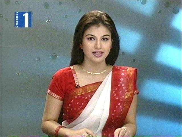 farhana nisho farhana nisho best news presenter in bangladesh