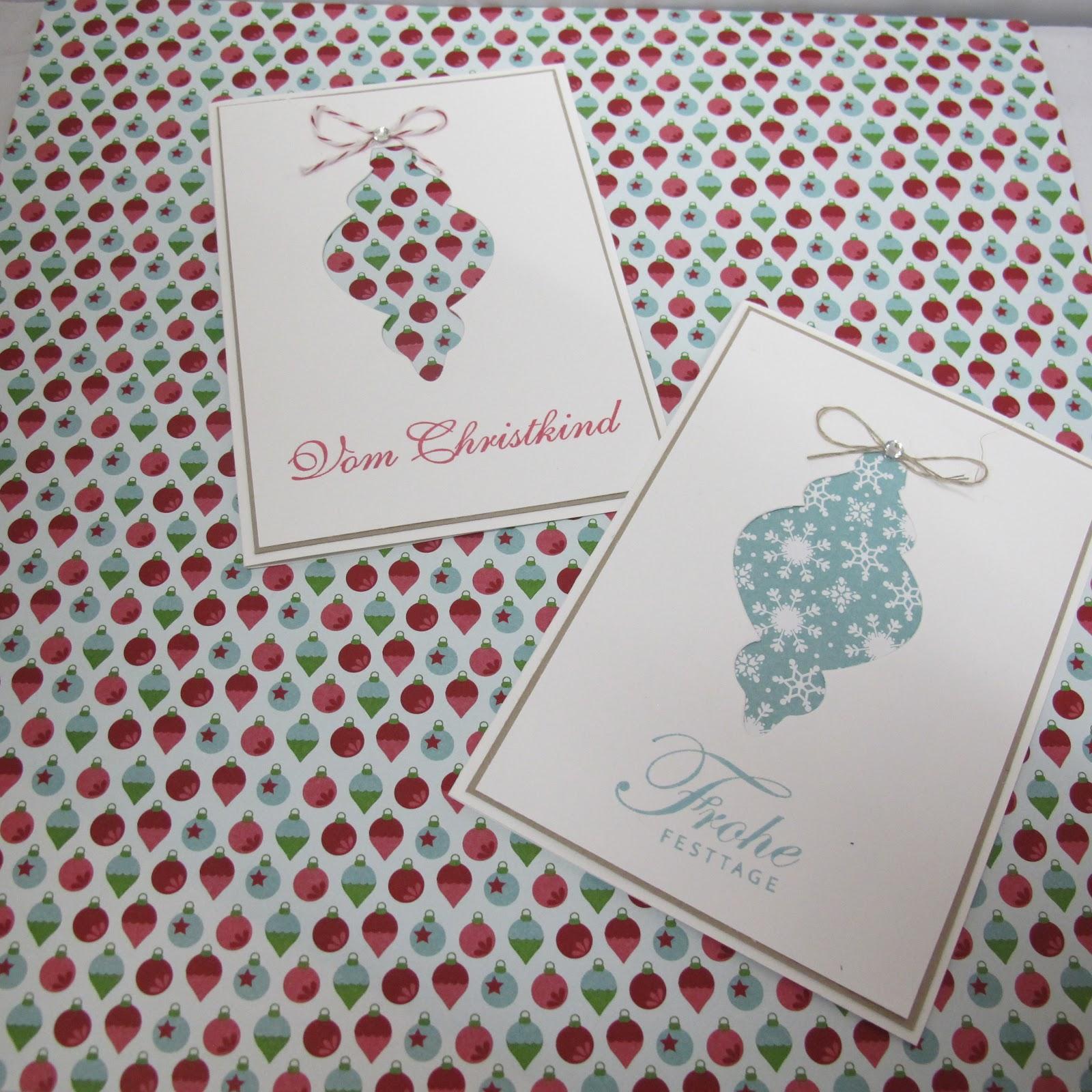 claudinchens kreative seite ornament karten. Black Bedroom Furniture Sets. Home Design Ideas
