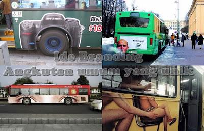Ide Branding angkutan umum yang unik
