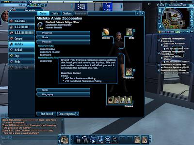 Star Trek Online - Common Bridge Officer Traits