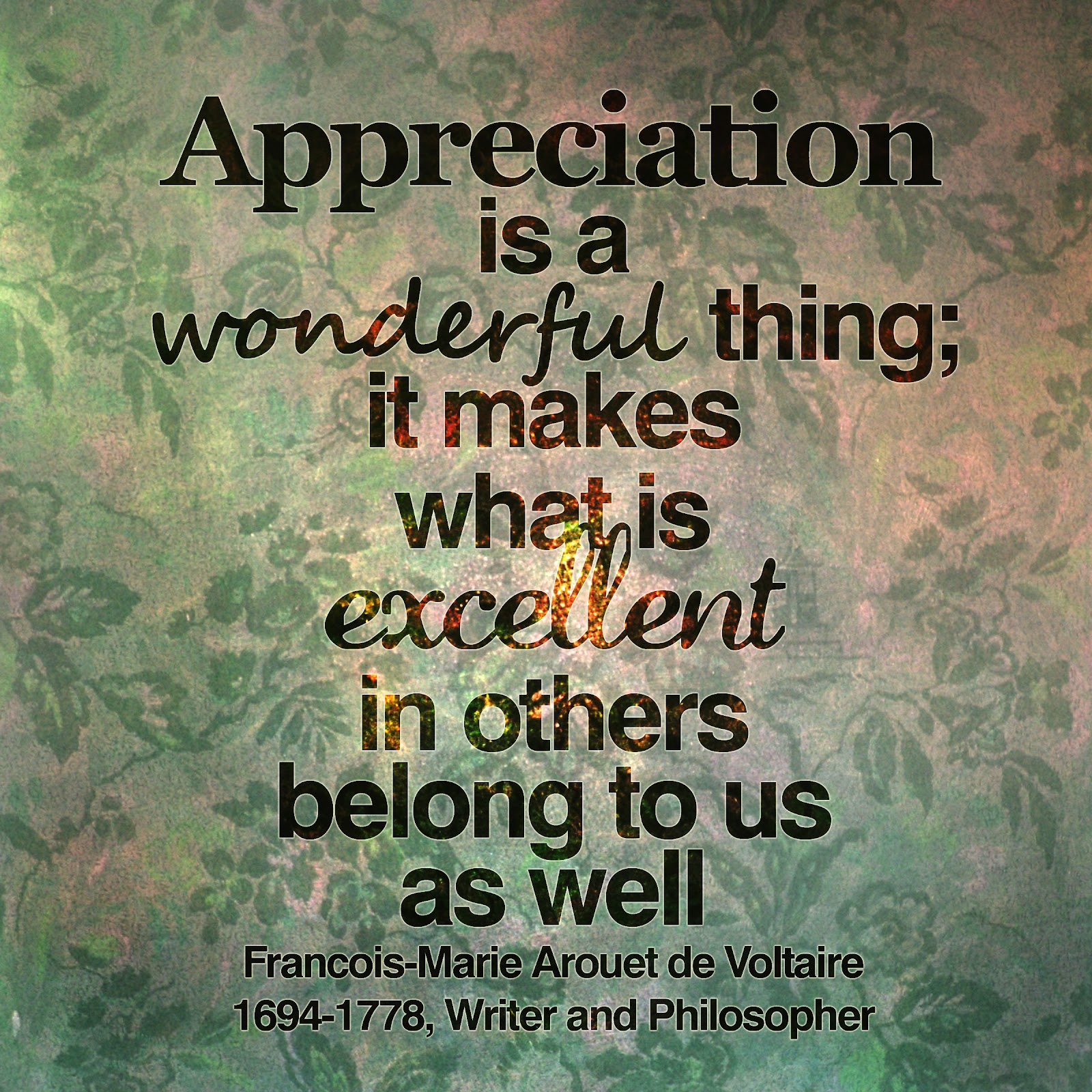 Appreciation Quotes Happy To Inspire Quote Of The Day Appreciation