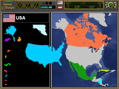 North America Puzzle Screenshot