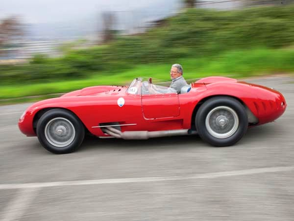 1956 Maserati 450S Prototype by Fantuzzi Review