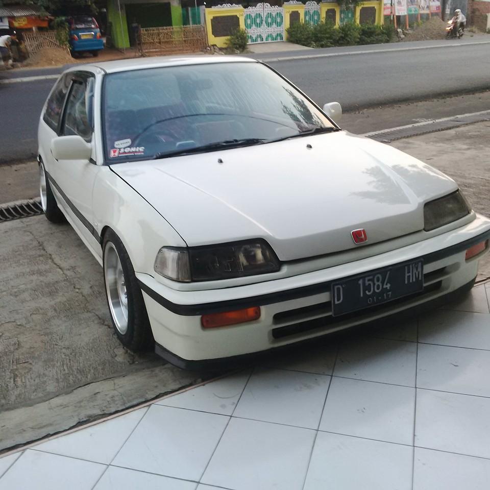 civic nouva honda 1988 putih istimewa - cikampek - lapak mobil dan