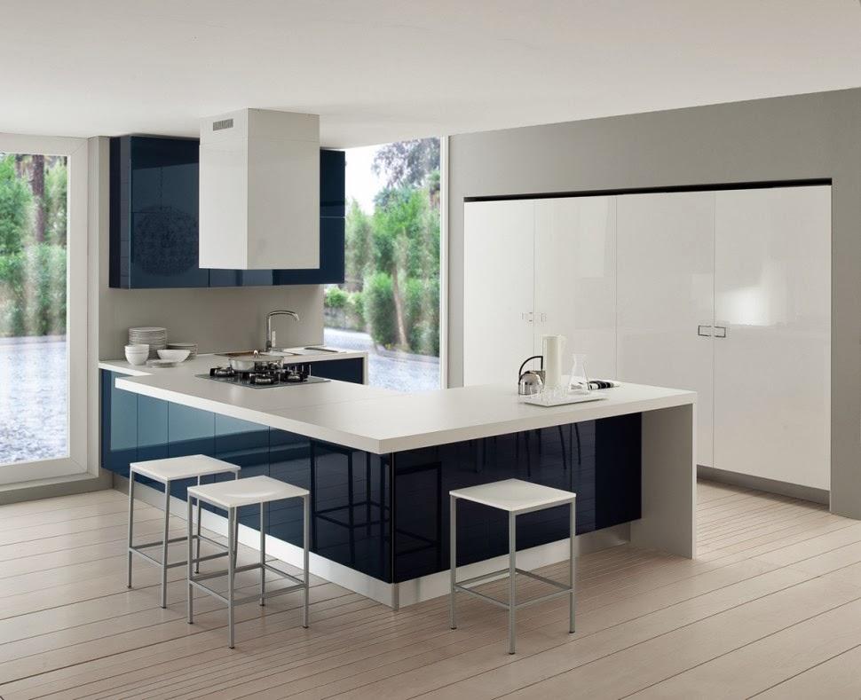 Materiales para cocinas ii lacados los m s vers tiles cocinas con estilo - Cocinas blancas lacadas ...