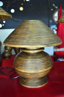 Chiang Mai bamboo lamp