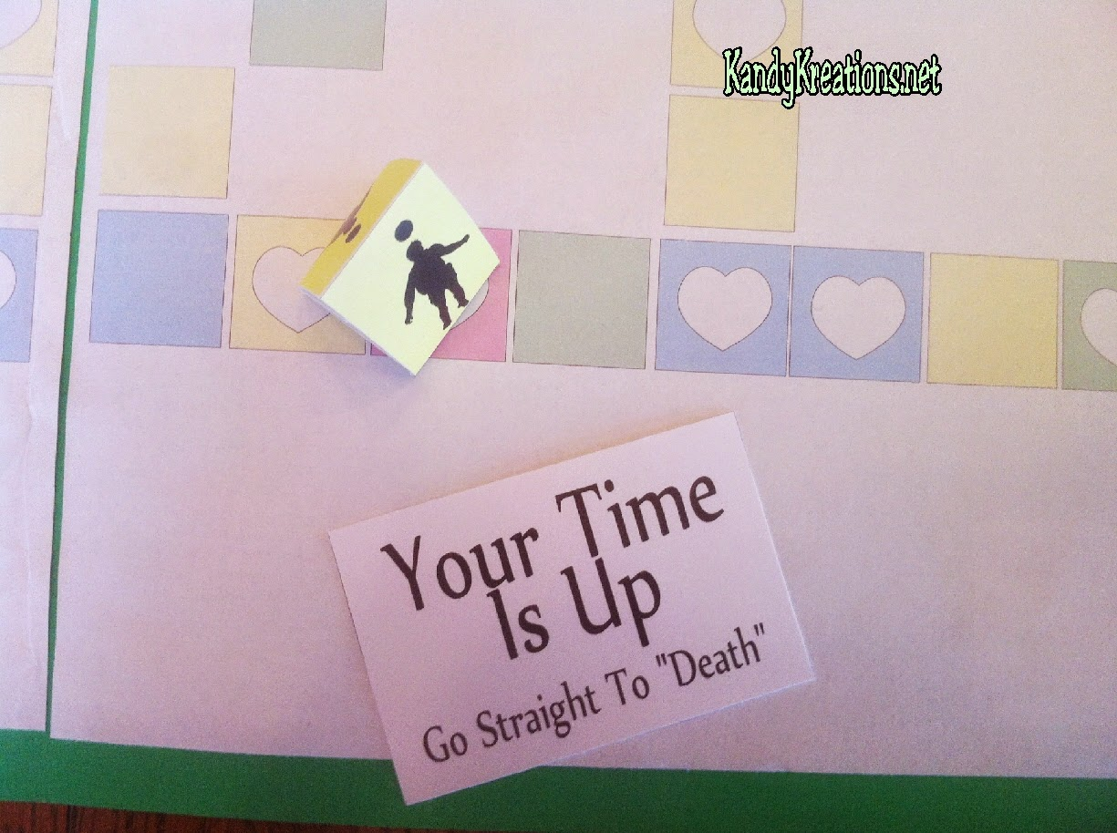 Death in the Plan of Salvation Board Game. Free Printable board game and ideas to teach for FHE or YM/YW activity.