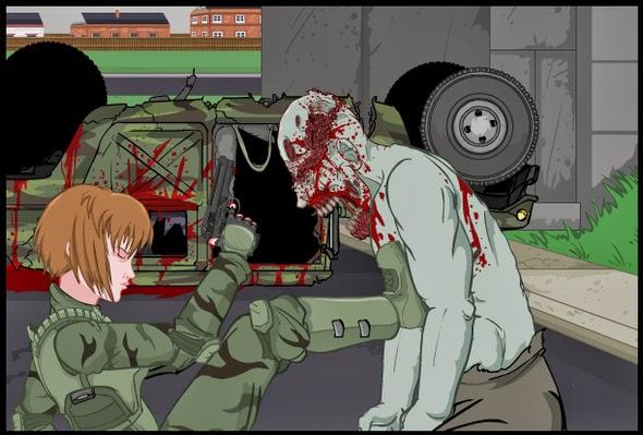 Jogo de atropelar zumbis: Road of the Dead 2 FLASH GAME, atirar em zumbis
