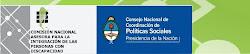 CONADIS ( comisión nacional asesora para la integración de las personas con discapacidad)