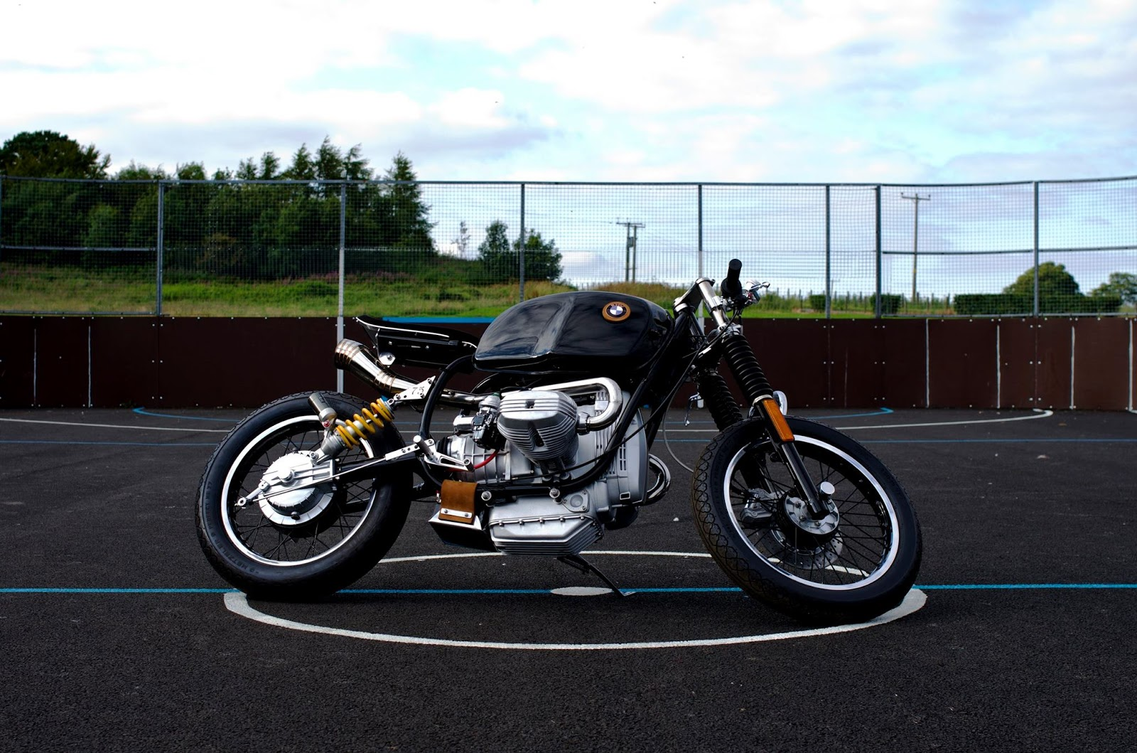 Bmw R80 Custom Bieda75 99garage Cafe Racers Customs