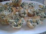 Spinach Artichoke Dip Cups