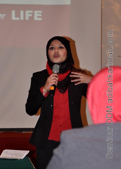 testimonial kejayaan perniagaan premium beautiful ddm adibah dlm seminar double diamond manager di awana genting highlands