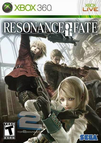 تحميل لعبة Resonance of Fate XBOX360