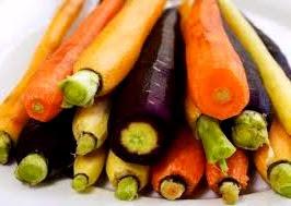 Color de las zanahorias