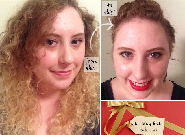 Manicurity | Pantene: Want That Hair - Holiday Hair + The Big Reveal! (and tutorial)