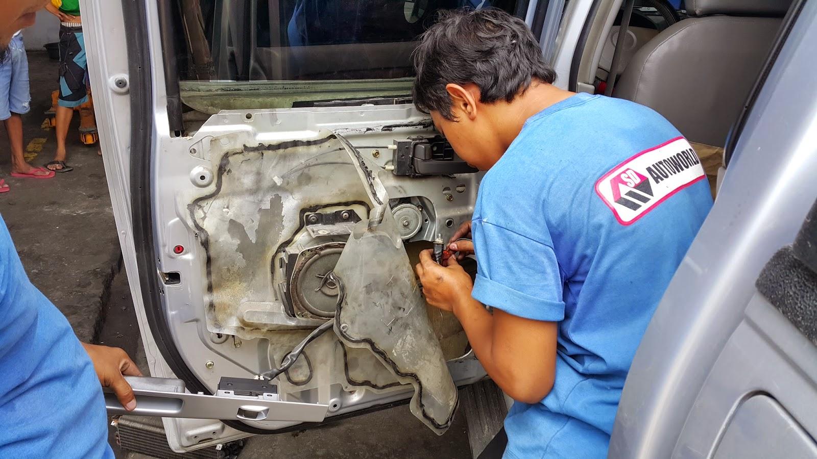 Sd Autoworld Mechanic S Corner Isuzu D Max Power Window Problem