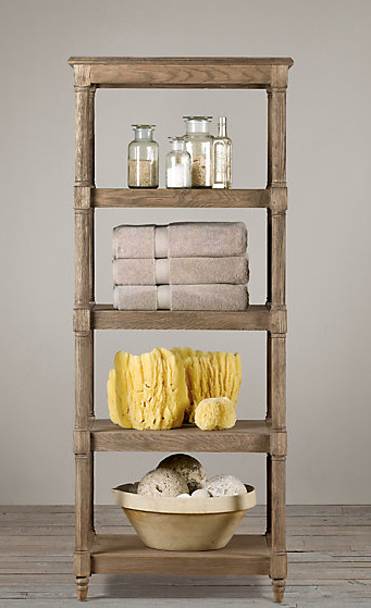 What an awesome idea: add wood to an old metal shelf!  Must try. entirelyeventfulday.com