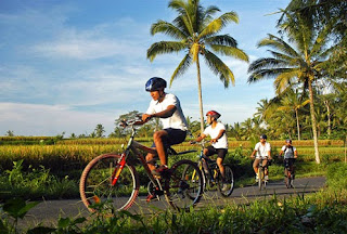 Location Bali Cycling Tour