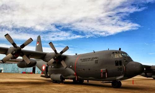 Hercules C-130H TNI AU