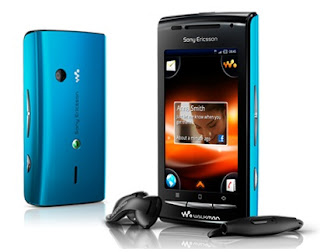 Sony Ericsson W8 Walkman phone with Android OS