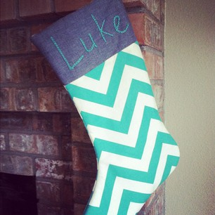 allisa jacobs chevron stocking