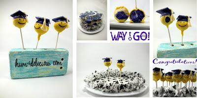 graduation cake pop montage