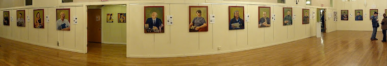 """Portraits of American Veterans Project"" Exhibit at the Lakeside Legacy Arts Park Sage Gallery 2010"