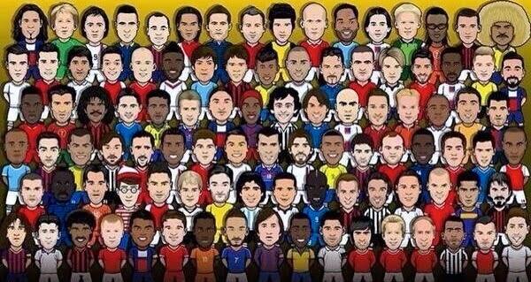 Periodismo de fútbol mundial: Los colores de los clubes del mundo