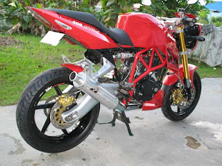 bike modification gambar motor modifikasi