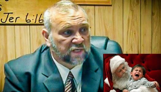 """Pastor evangélico afirma que """"Papá Noel es Satanás"""""""