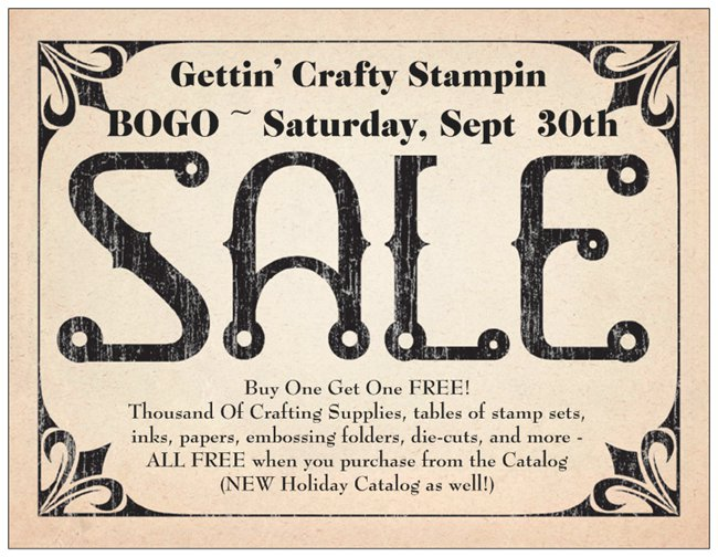 Massive BOGO Craft Sale