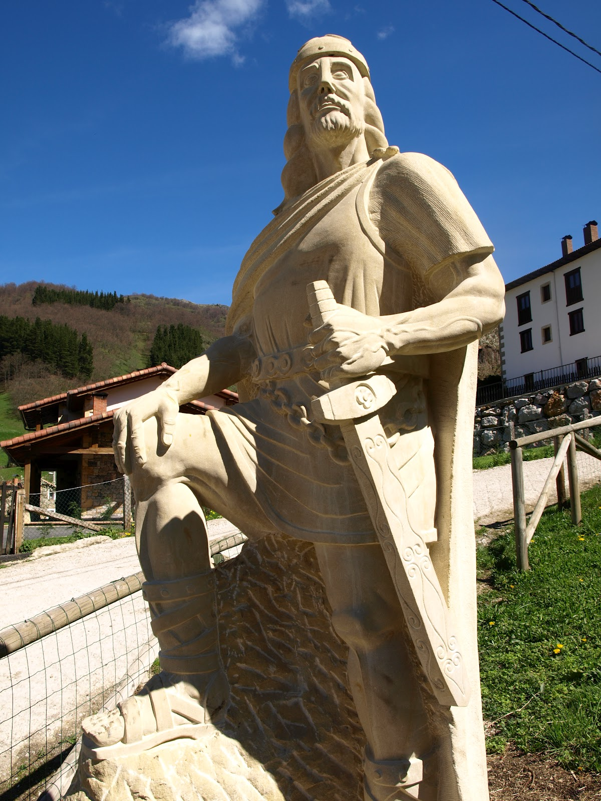 Image result for pelayo statue cosgaya