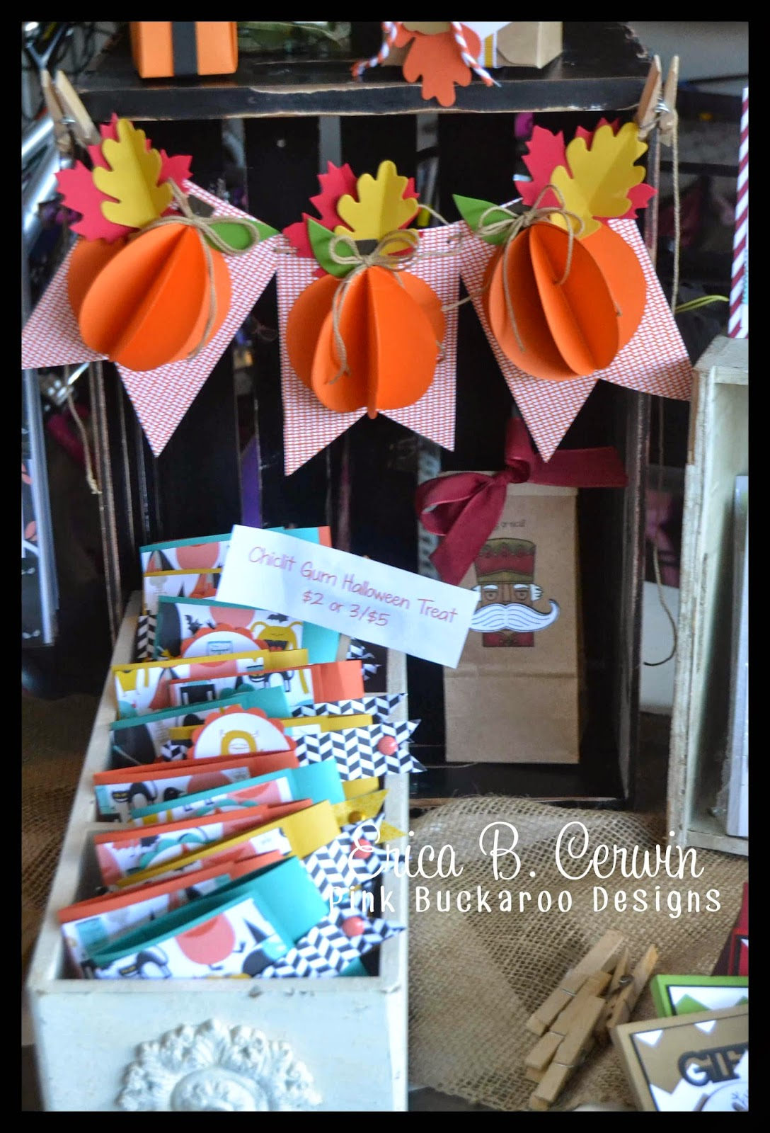 Pink buckaroo designs fall craft fairs for Easy halloween crafts to make and sell