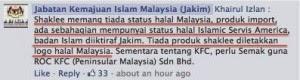 Status halal Jakim