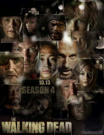 Download - The Walking Dead 4ª Temporada Completa HDTV -  Dublado e Legendado
