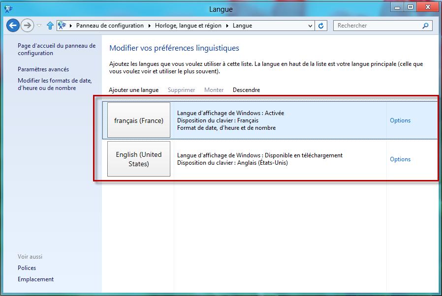 Club windows 8 installer des langues suppl mentaires pour - Open office en francais pour windows 8 ...