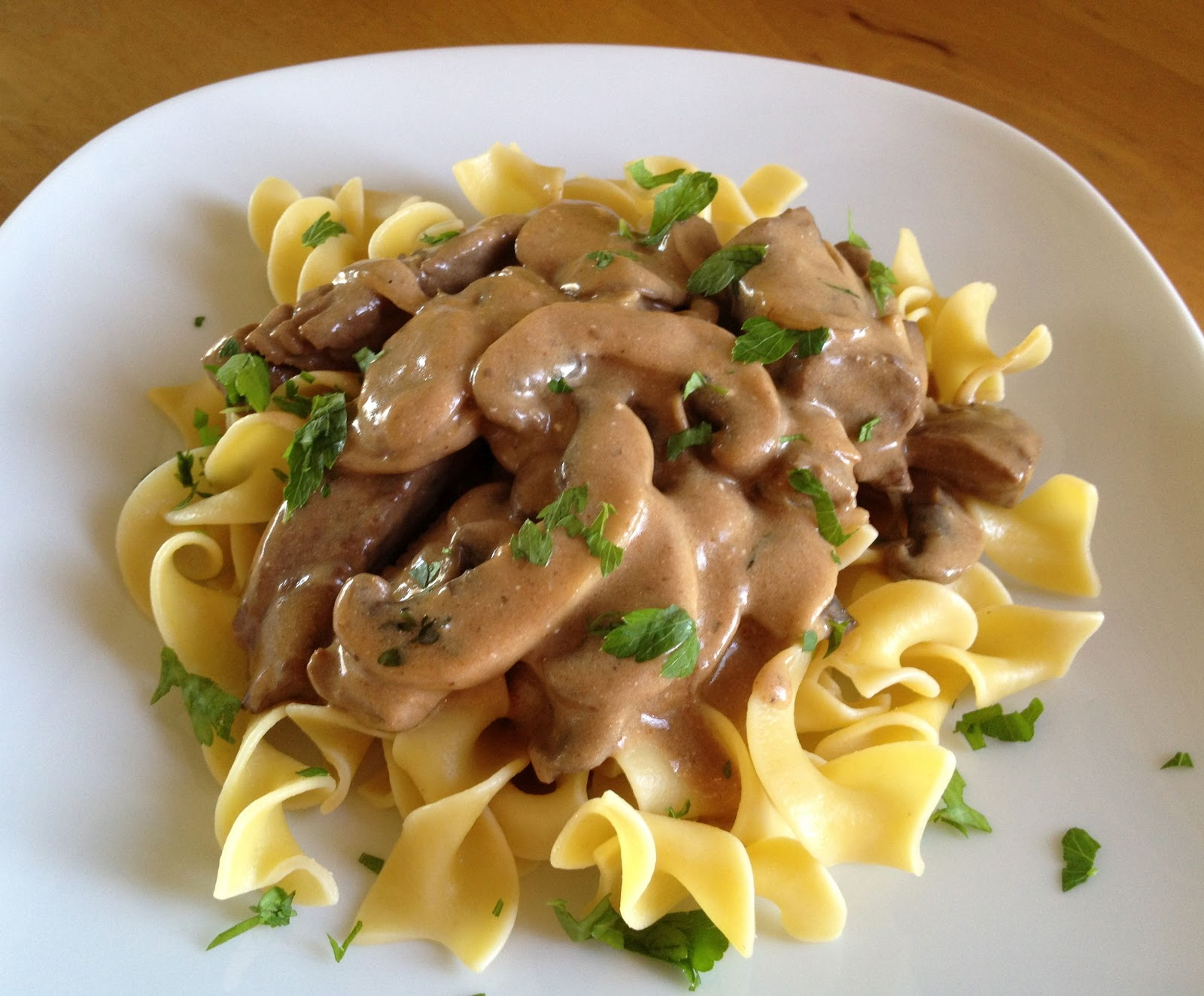 A 1960\'s Beef Stroganoff Any \