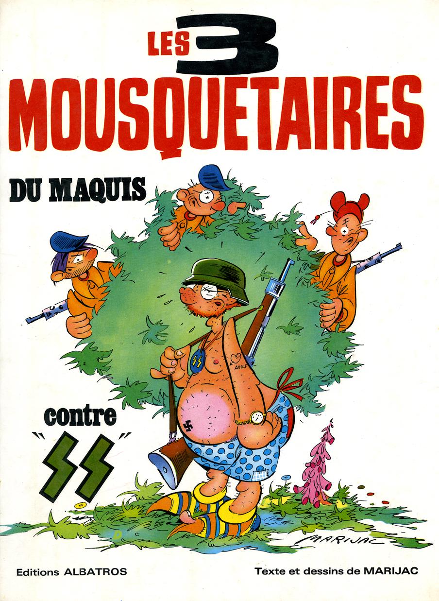 Le dessin les 3 mousquetaires du maquis de marijac for Les mousquetaires du meuble