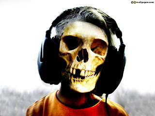 Skull hearing Headphone