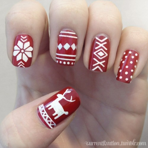 Nail obsession christmas nail designs