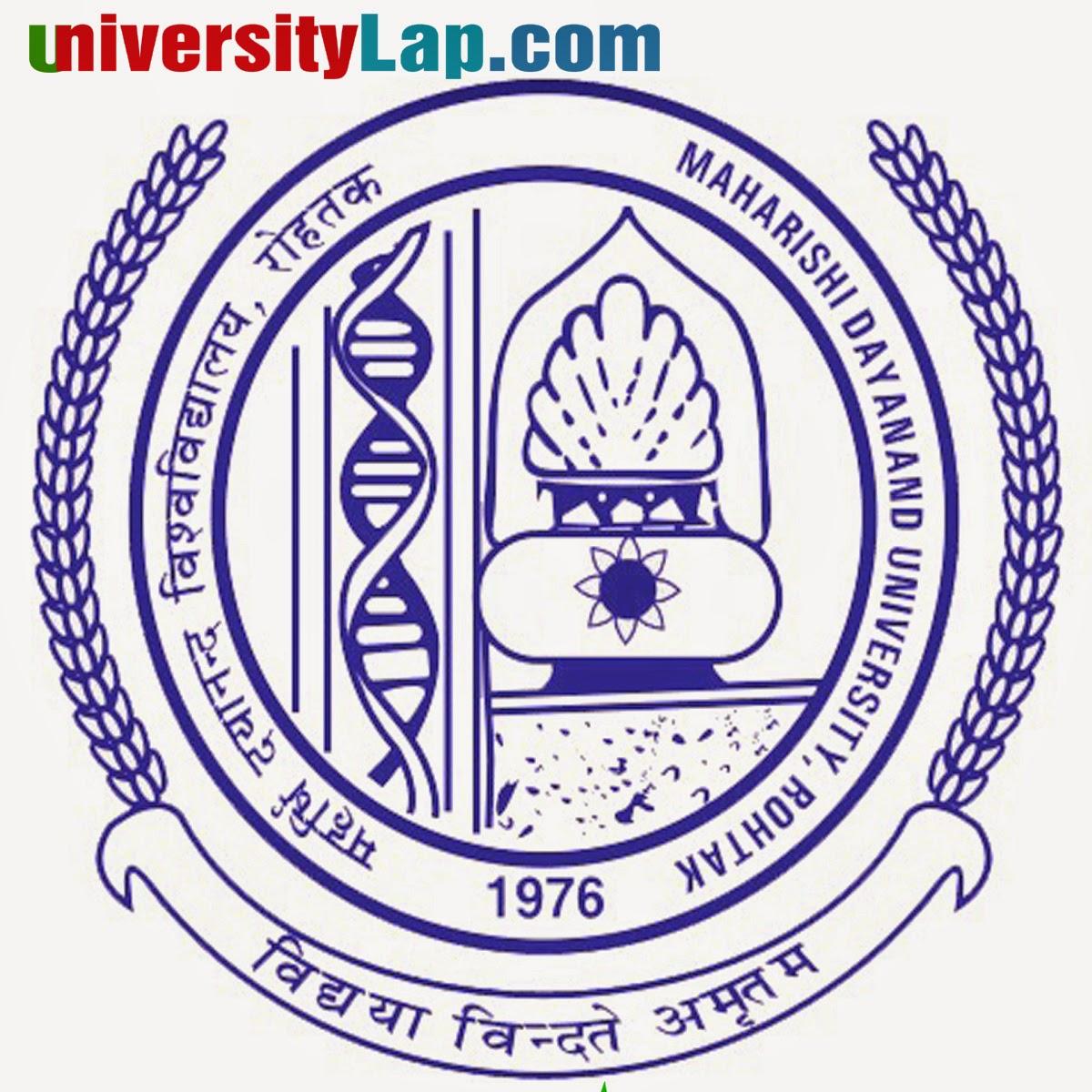 mdu university result