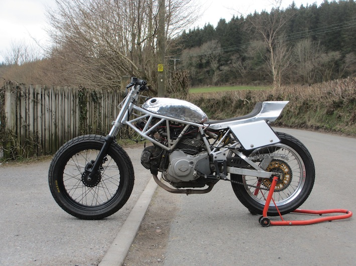 Fantastic UK Ducati Short Tracker