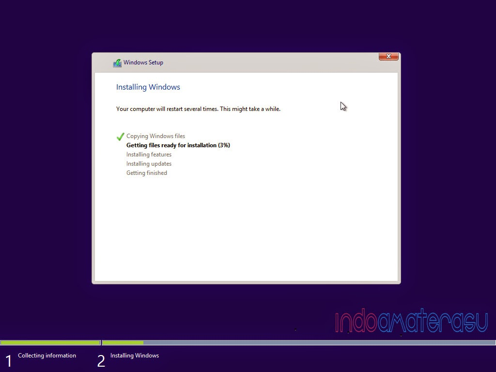 Cara install Windows 8/ 8.1 7