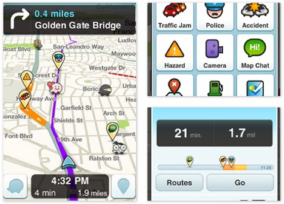 LifeFlicks | Tech: Waze app provides real-time traffic alerts from ...