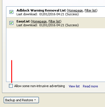 make adblock filter out all adverts i ll help you